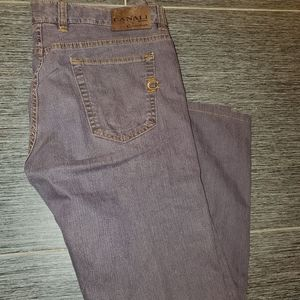 CANALI Brown Jeans